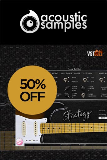 -50% sur Strategy Guitar