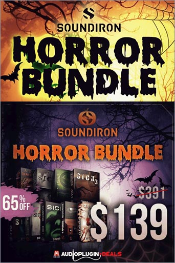 -65% sur l'Horror Bundle