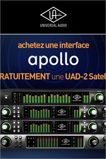 Une UAD-2 Satellite Quad gratos !