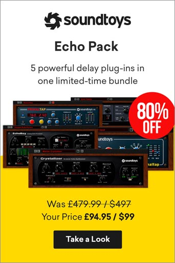 -80% sur le bundle Echo Pack