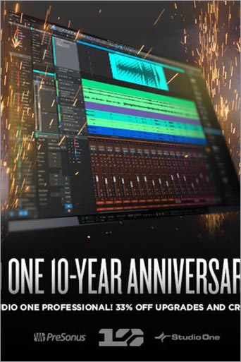 Promo 10 ans Studio One !
