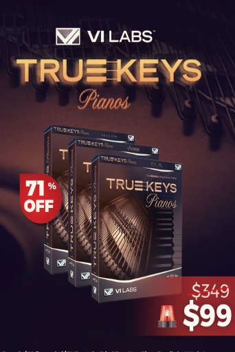 -70% sur le bundle True Keys Pianos !