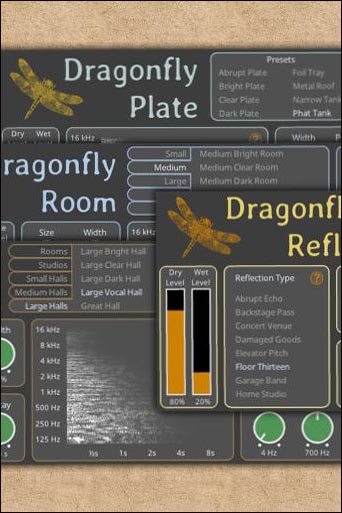Dragonfly Reverb Bundle