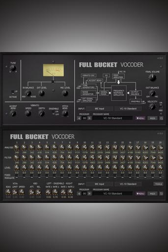 Full Bucket Vocoder